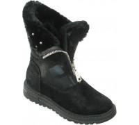 Ботинки «Фантазия» черные