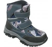 Ботинки мембрана зимние «Фантазия» синие