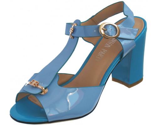 Босоножки женские «Fashion Party», голубые