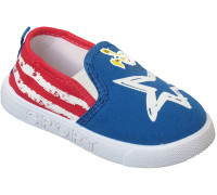 Кеды детские «Fashion» синие с красным