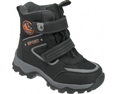 Ботинки зимние детские «Фаворит» черные