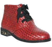 Ботинки «Felli Step», красные