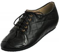Туфли женские из искусственной кожи «Felli Step», черные