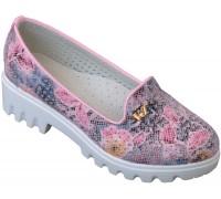 Туфли «Котенок» розовые