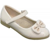 Туфли школьные, для девочек «Ладья» бежевые