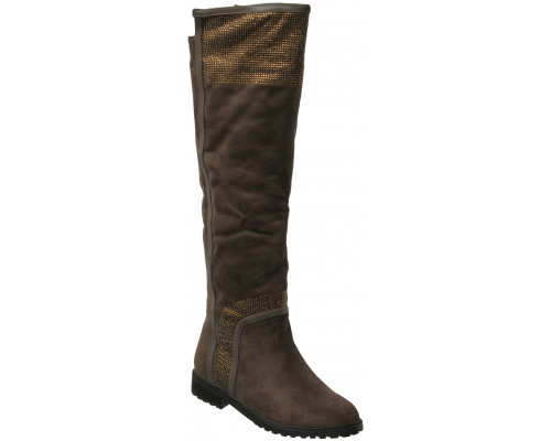 Сапоги зимние высокие «Lallita» (36,37,38), 843-A231 коричневые