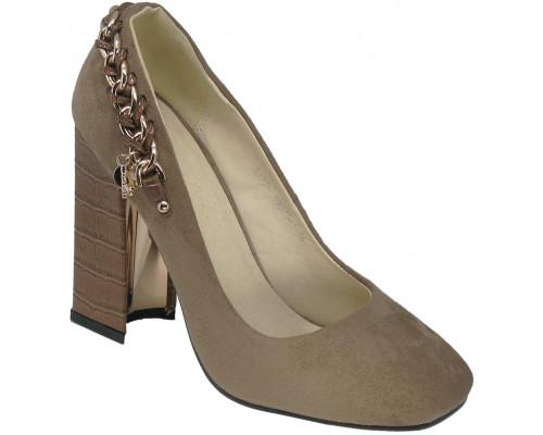 Туфли женские «Lallita» коричневые