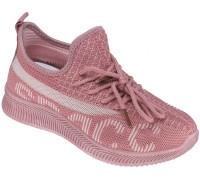 Кроссовки детские «Леопард» темно-розовые
