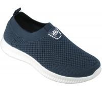 Кроссовки подростковые сетка « М.Мичи-Libang» синие