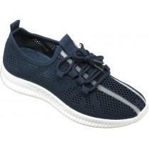 Кроссовки подростковые сетка « М.Мичи-GOGC» синие