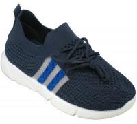 Кроссовки подростковые сетка «М.Мичи» синие