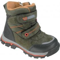 Ботинки зимние детские «М.Мичи» зеленые