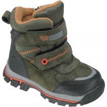 Ботинки зимние для мальчиков «М.Мичи» зеленые