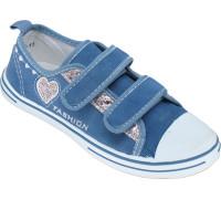 Кеды детские на двух липах «М.Мичи» голубые