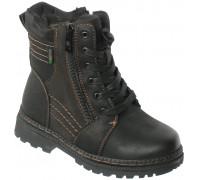 Ботинки зимние для мальчиков «Maierfa» черные
