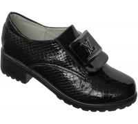 Туфли на девочек «Надежда» черные