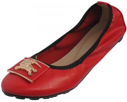 Балетки «Necosia» красные