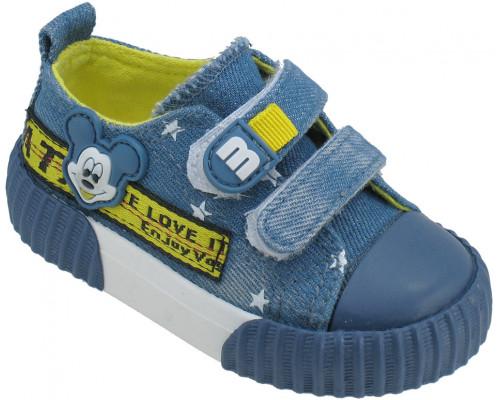 Кеды детские «Пчелка» синие
