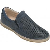 Туфли школьные для мальчиков «Пчелка» синие