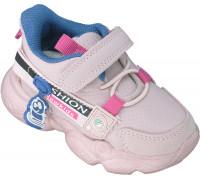 Кроссовки детские, для девочек «Пчелка» розовые