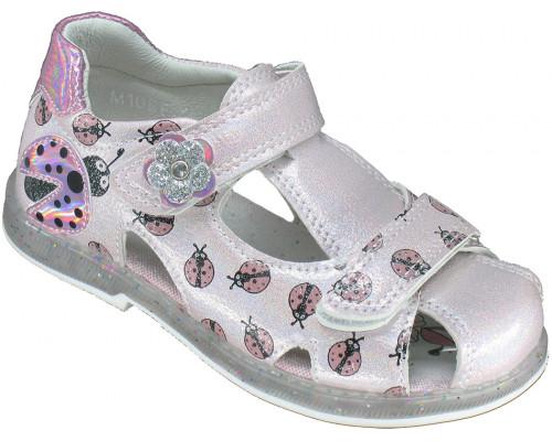 Сандалии детские, для девочек «Пчелка» розовые