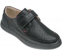 Туфли школьные для мальчиков «Пчёлка» черные