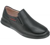 Туфли школьные для мальчиков, «Пчёлка» черные