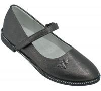 Туфли детские, для девочек «Пчелка» бронза