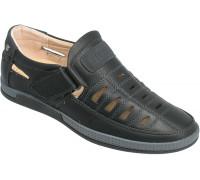 Туфли подростковые для мальчиков «Пчелка» черные