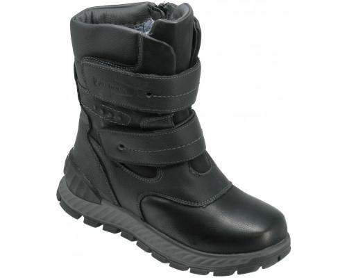 Ботинки зимние для мальчиков «Пчелка» черные