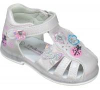 Сандалии детские, мигающие, для девочек «Пчелка» розовые