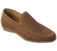 Туфли для мальчиков в сеточку «R.Rocco», светло-коричневые