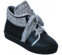 Ботиночки для девочек демисезонные «Ромашка» синие