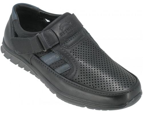 Туфли подростковые «Ruiming» черные