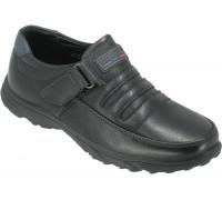 Туфли детские для мальчиков «Ruiming» черные