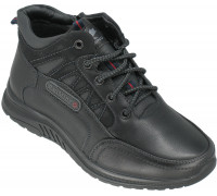 Ботинки демисезонные, подростковые «Ruiming» черные