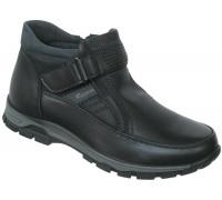 Ботинки зимние подростковые «Ruiming» черные