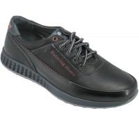 Туфли подростковые для мальчиков «Ruiming» черные