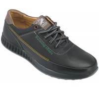 Туфли подростковые для мальчиков «Ruiming» темно-синие