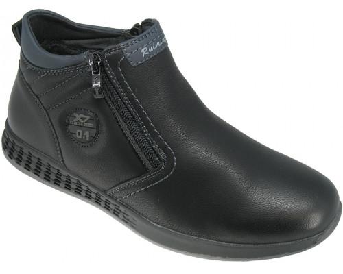 Ботинки демисезонные для мальчиков «Ruiming» черные
