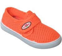 Кеды сетка детские «Милый Тигренок» оранжевые