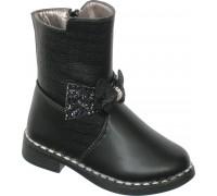 Ботинки «Шалунишки» черные