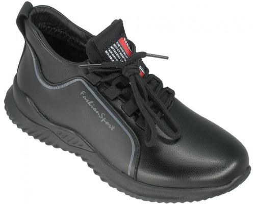 Ботинки демисезонные детские «Soko Solo» черные