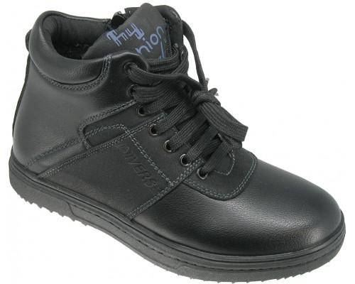 Ботинки демисезонные, для мальчиков «Soko Solo» черные