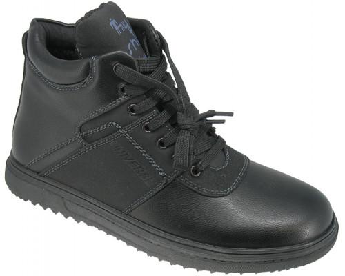 Ботинки демисезонные для мальчиков «Soko Solo» черные