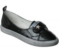 Туфли спортивные «Совенок» черные