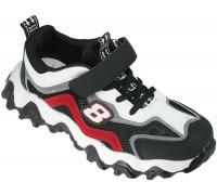Кроссовки подростковые сетка «Sport» черные