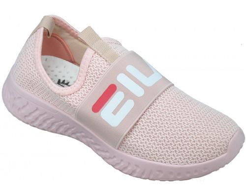 Кроссовки подростковые «Sport» розовые