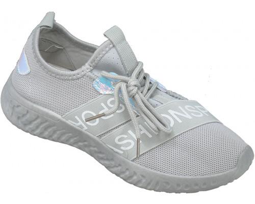 Кроссовки подростковые «Sport» серые