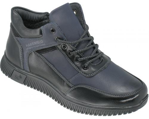 Ботинки демисезонные, подростковые «Torro-Hakenslo» синие